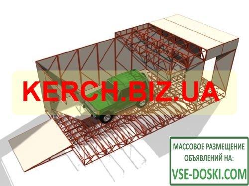 Модульные здание и складское оборудование в Керчи