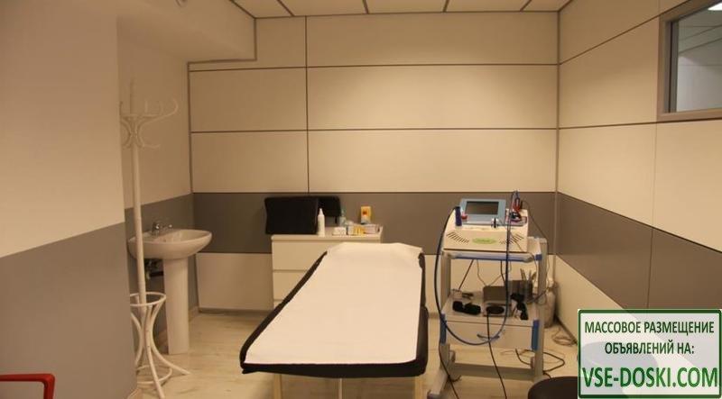 Помещение, арендуемое медицинским оздоровительным центром, в Барселоне.