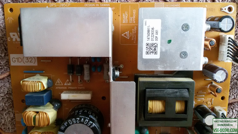 DPS-205CP плата питания для SONY KDL-32L4000