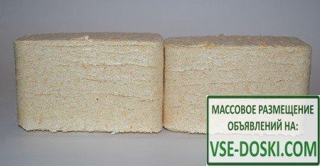 Брикеты топливные из березы(пыль) в Дмитровском р-не, по доступной цене