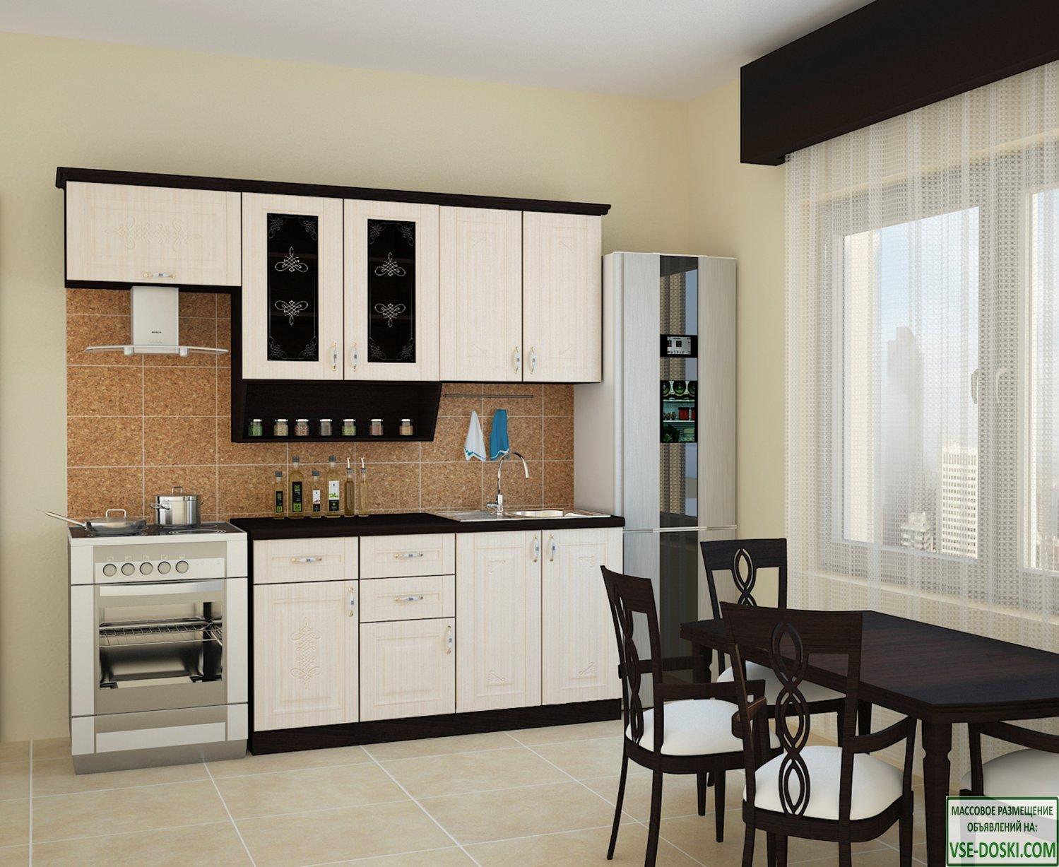 Кухня БЕЛАРУСЬ-3, правая - левая