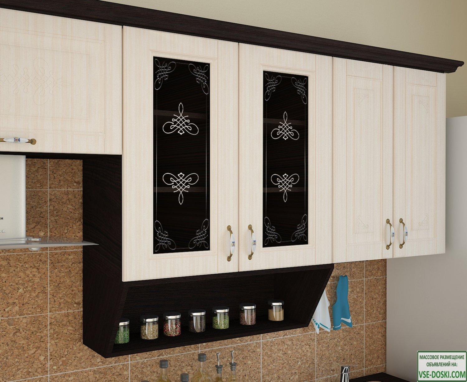 Кухня БЕЛАРУСЬ-1 Угловая, правая - левая