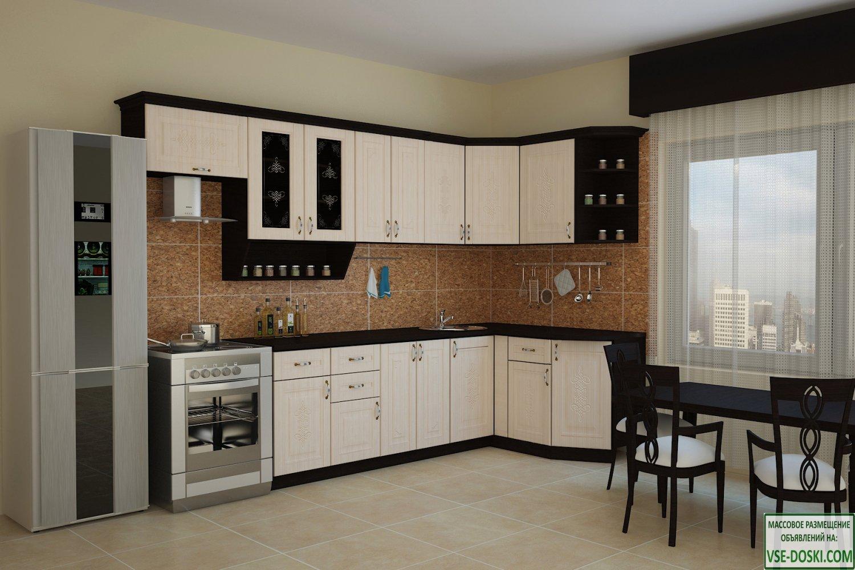 Кухня БЕЛАРУСЬ-2 Угловая, правая - левая