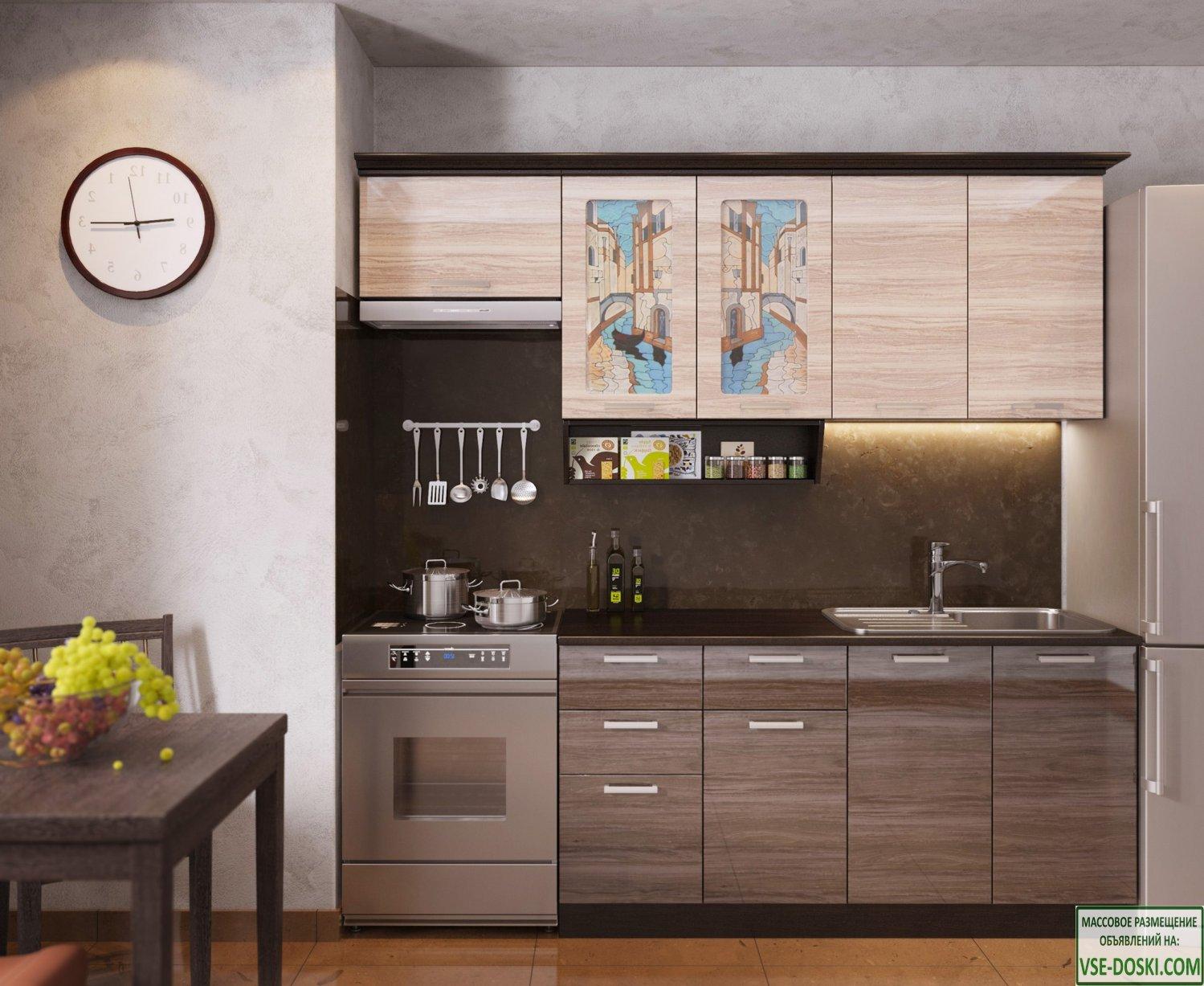 Кухня ВЕНЕЦИЯ-3, правая - левая
