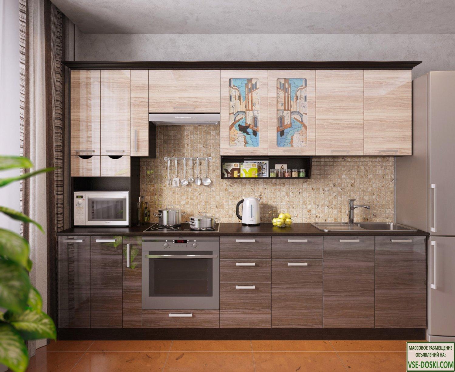 Кухня ВЕНЕЦИЯ-5, правая - левая