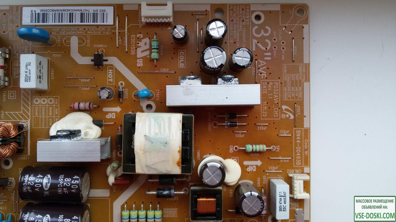 PD32AVF_CHS, BN44-00493B плата питания от Samsung UE32EH5000W