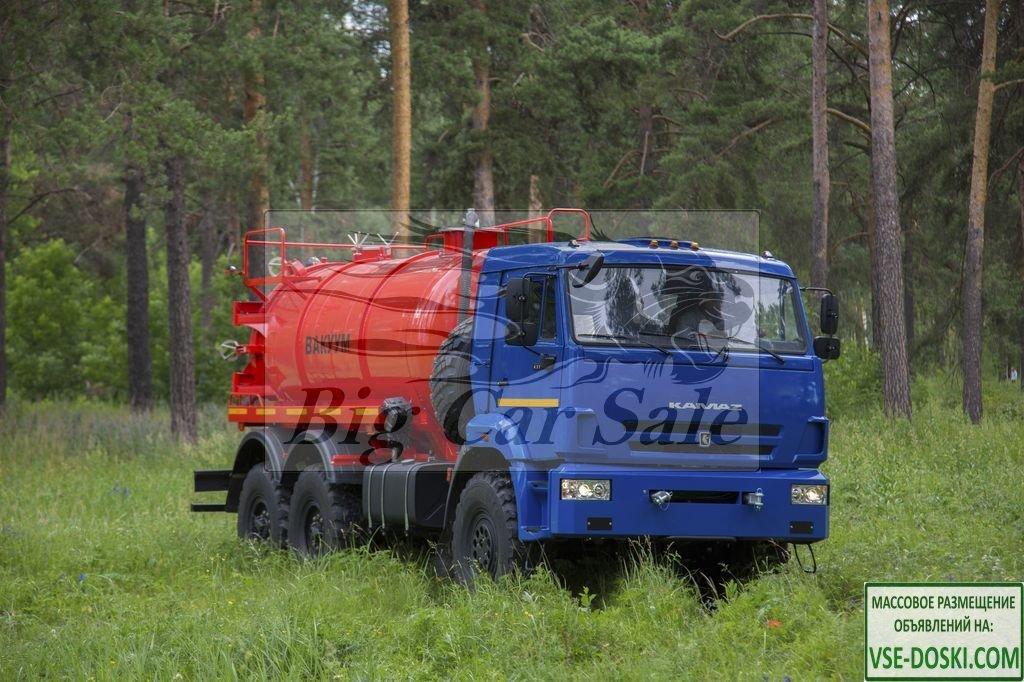 Автоцистерна АКН-10ОД на шасси КАМАЗ-43118