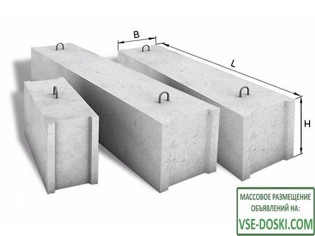 Фбс, блоки фбс, фбс в Спб и Лен.области, фбс размеры, фундаментный блок, блок фундамент, б