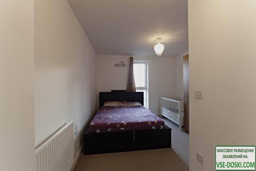 Квартира с двумя спальнями, в Лондоне.