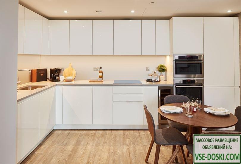 Апартаменты, в строящемся жилом доме, в Лондоне.