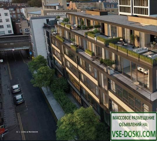 Квартира в новом жилом комплексе, в центре Лондона.