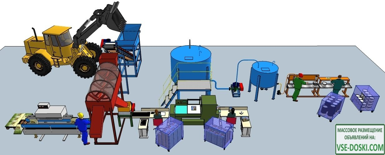 Производство органических удобрений из илов рыборазводных прудов