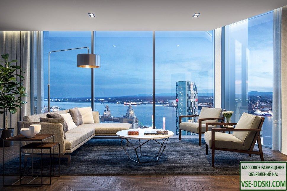 Новые квартиры для инвестиций в Ливерпуле.