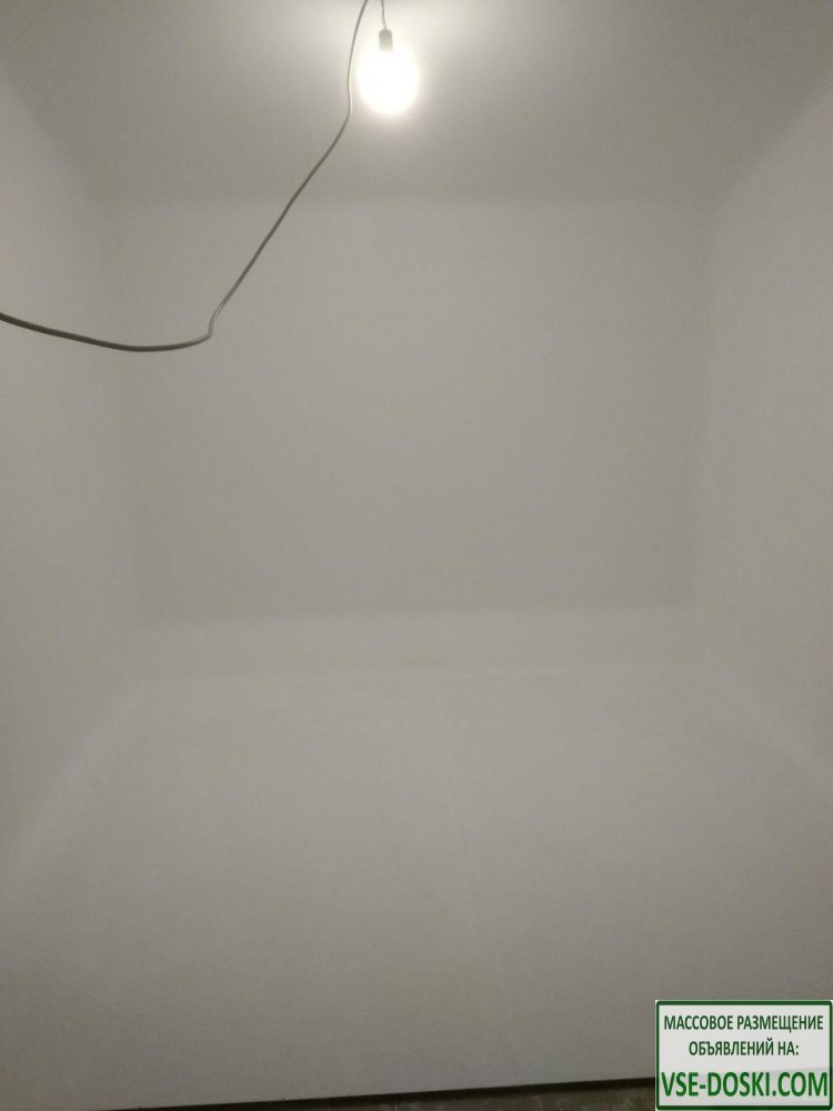 Белый фон для съемки видео. Студия с белым фоном - почасовая аренда - дёшево - 1/1
