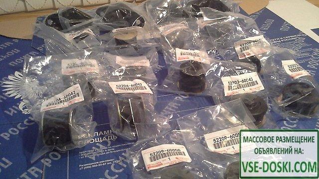 Кузовные японские рамные подушки LC Prado 78,95,120,150,LС80,100,200 и др. доставка по РФ - 2/10