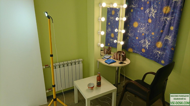 Белая циклорама 300 рублей в час, фотостудия
