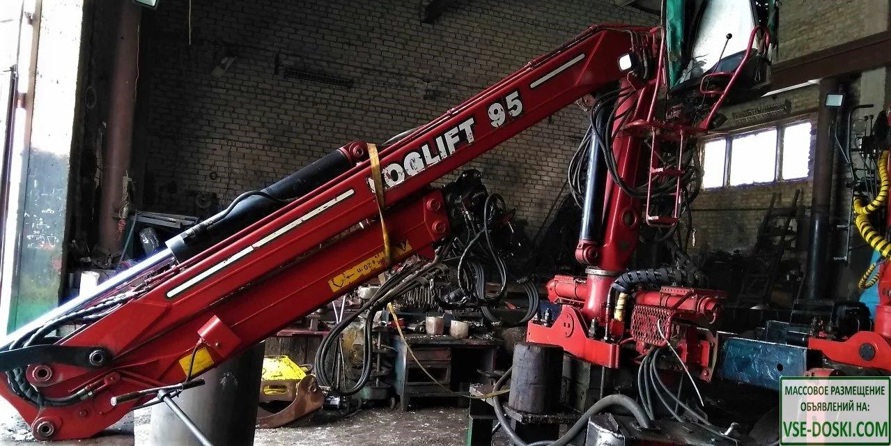 Loglift 96s гидроманипулятор (погрузчик леса)