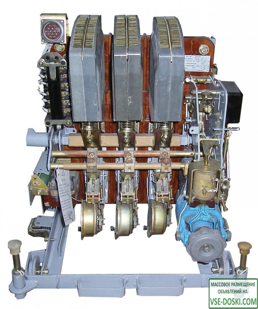 Автоматические выключатели серии АВМ, АВ2М, Электрон