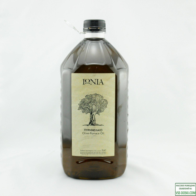 Рафинированное оливковое масло IONIA Greece - 5л,   1л. - для жарки