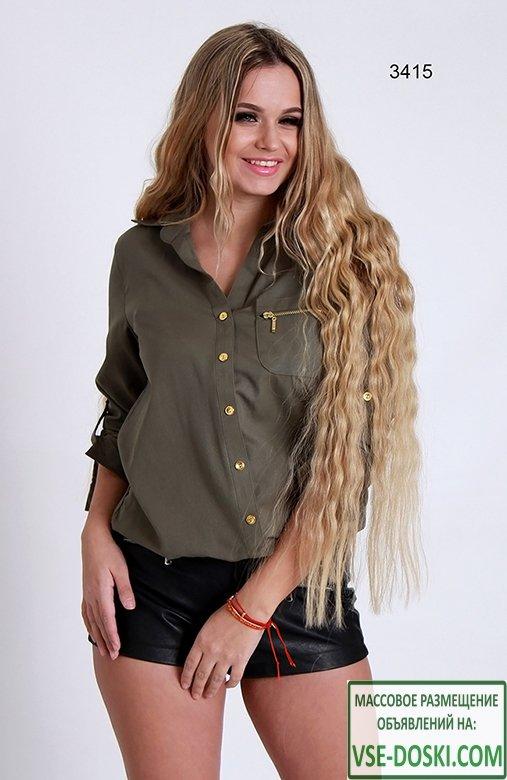 Блузки с длинным рукавом оптом от прямого поставщика производства Турции