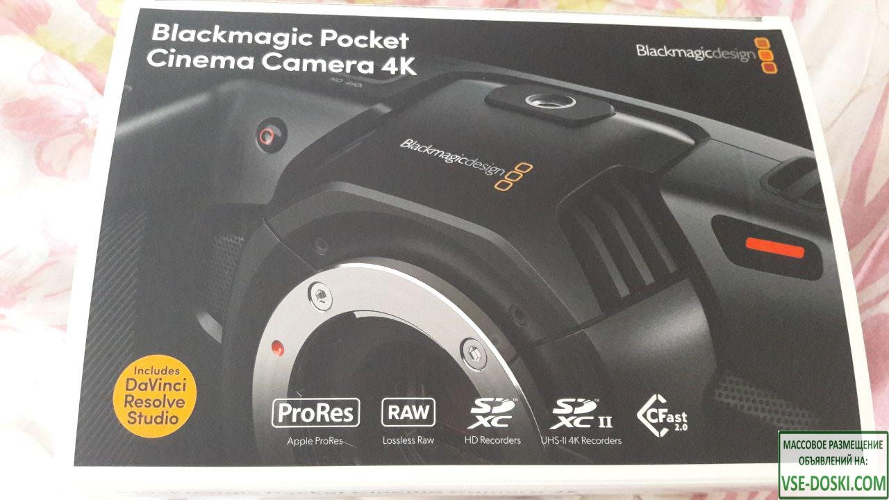 Blackmagic Pocket Cinema Camera 4K - 1/5