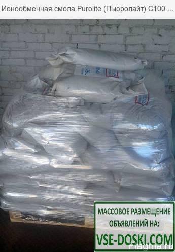 Ионообменная смола Purolite C100E, меш. 25 л