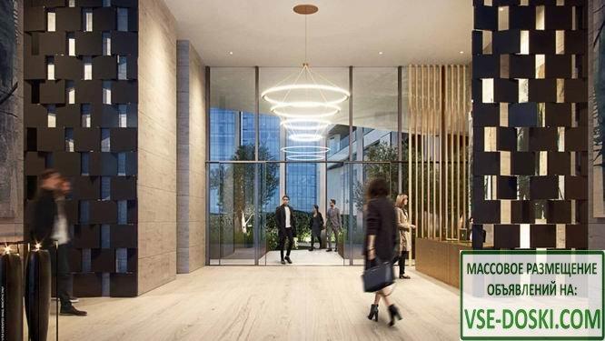 Квартиры в новом жилом проекте, в Лондоне (Canary Wharf).