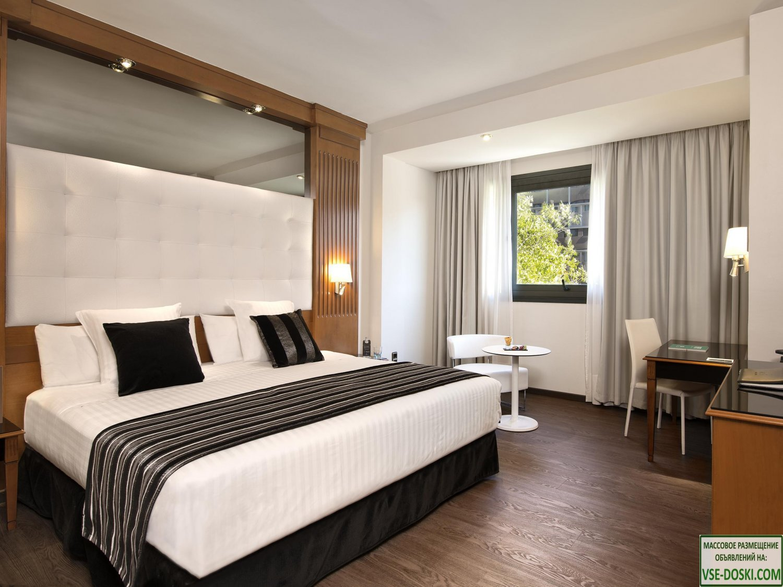 Отель четыре звезды, в центре Мадрида.