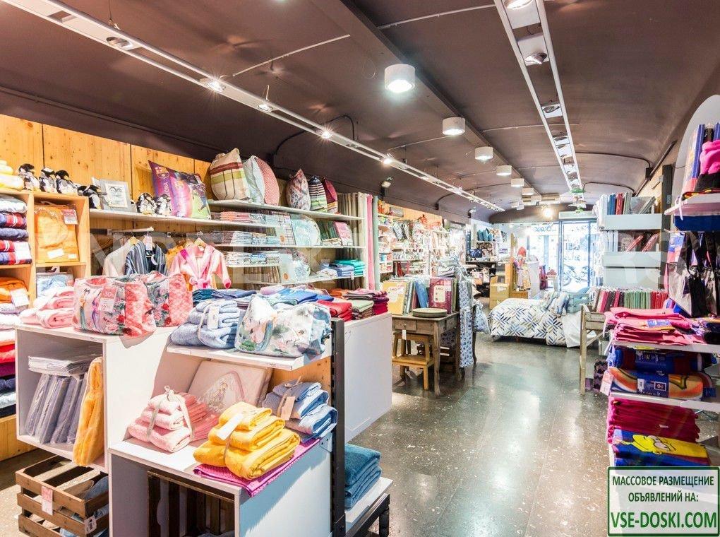 Помещение, арендуемое сетью магазинов товаров для дома, в Барселоне.