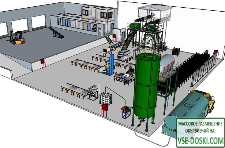 Проект и оборудование производства удобрений из донных илов рыборазводных прудов
