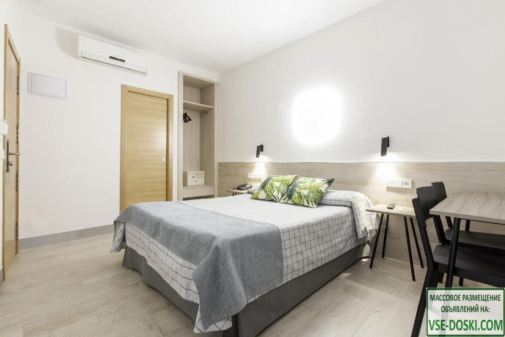 Отель три звезды, в центре Мадрида.