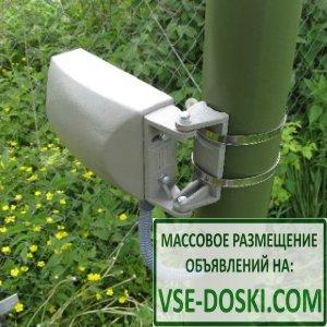 ГРАНЬ-100(9) охранный радиоволновый линейный двухпозиционный извещатель