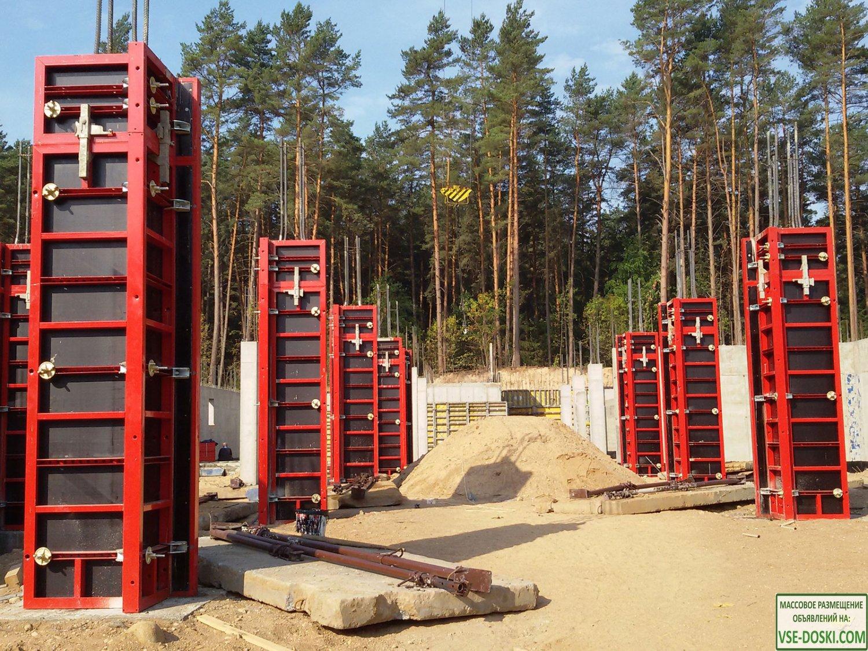 Выкуп, покупка б/у опалубки любых видов — опалубки стен, колонн, перекрытий, cup lock.
