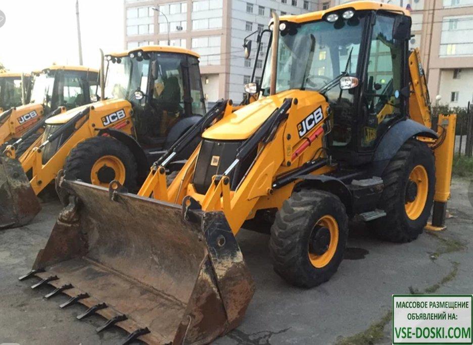 Аренда / услуги трактора экскаватора-погрузчика в Раменском районе