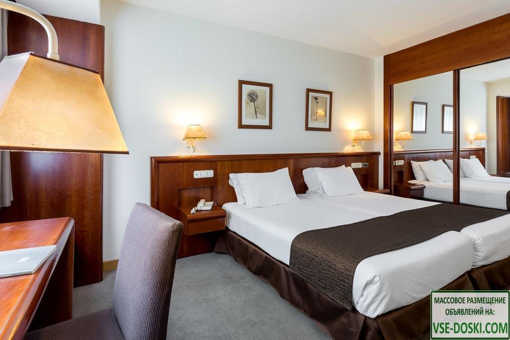 Отель три звезды в Мадриде.