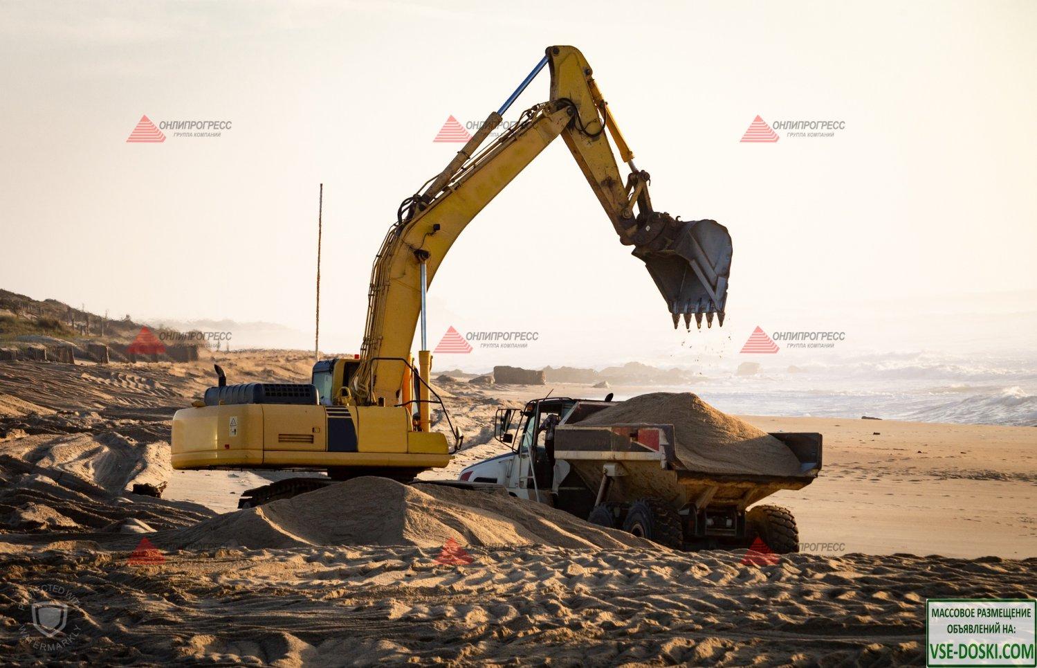 Щебень, песок, грунт, отсев, керамзит, гравий и др