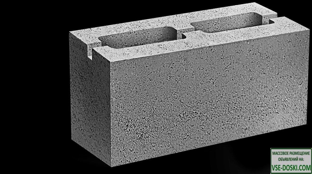 Строительные блоки:француз, шлакоблок для забора и перегородки
