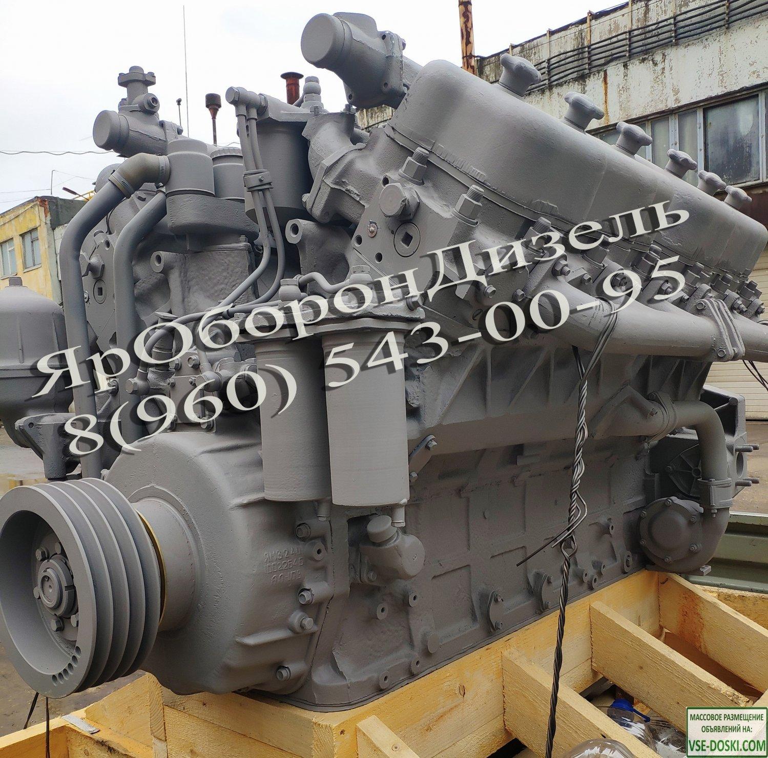 Двигатель ЯМЗ 240БМ2 после капитального ремонта
