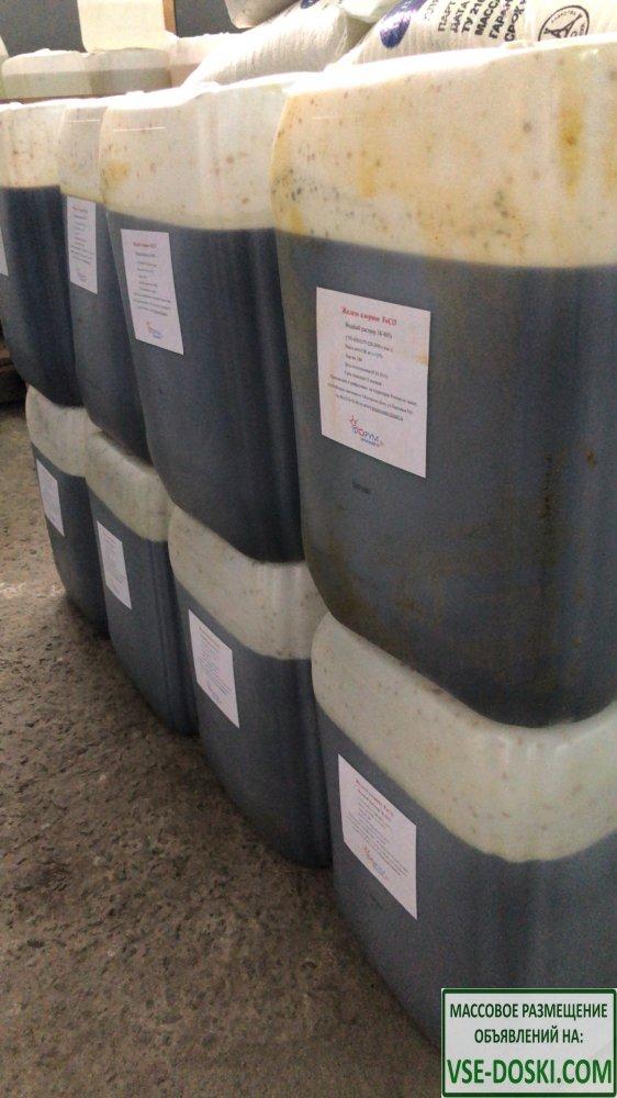 Железо хлорное, водный раствор 38-40 % (кан. 28 кг)