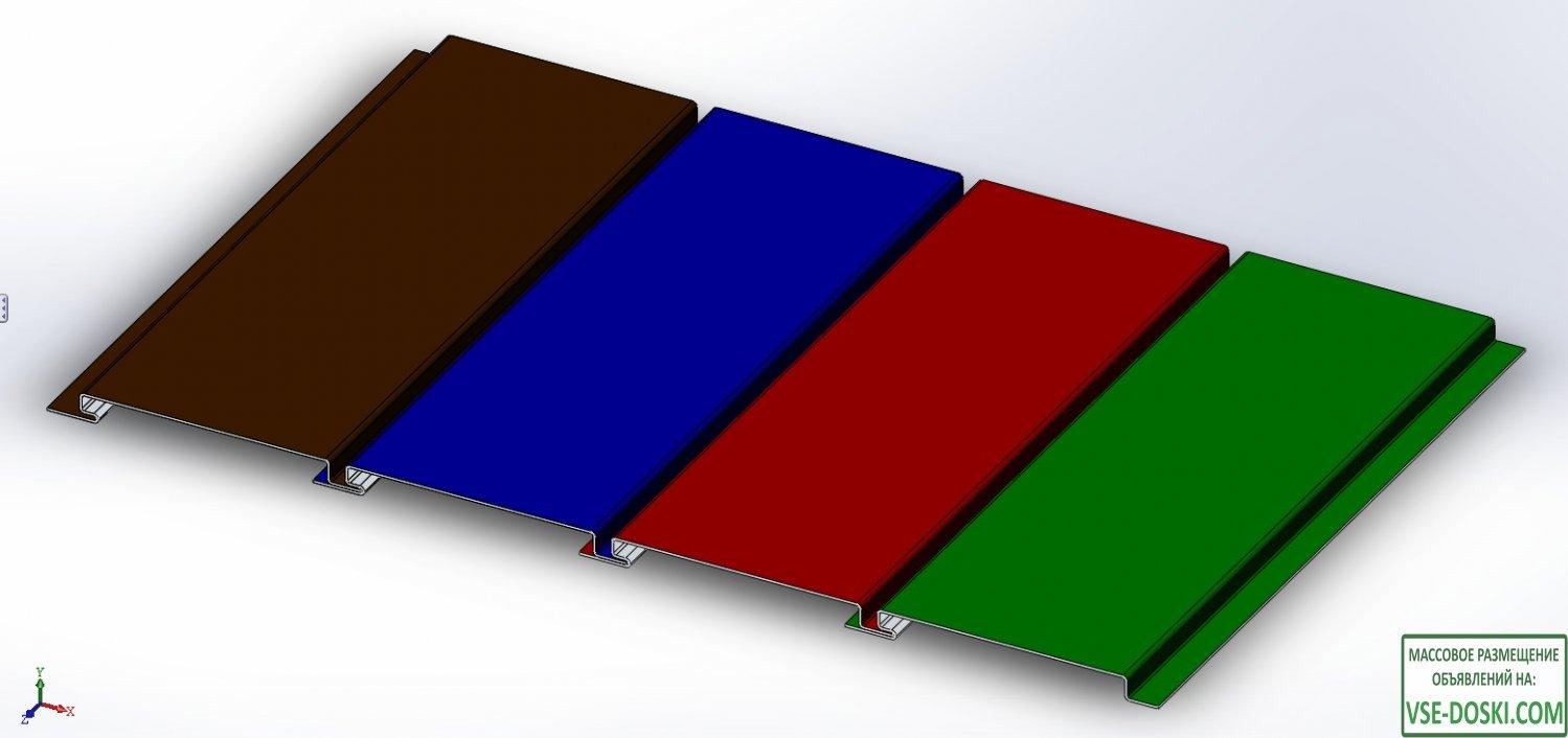 Линеарные панели и кассетный сайдинг в кратчайшие сроки