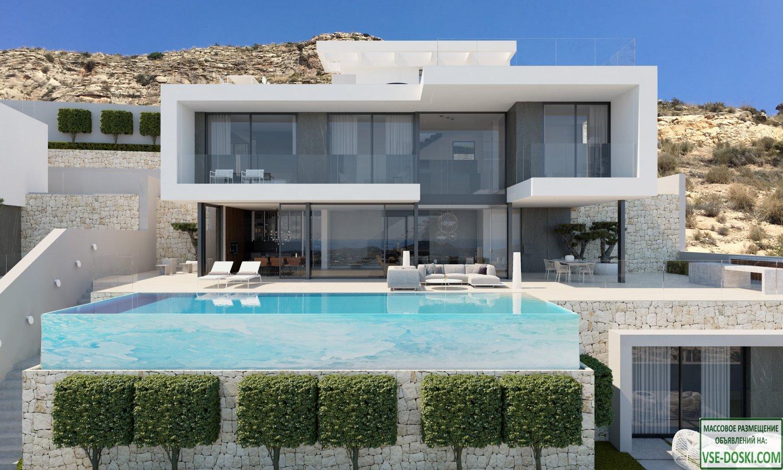 Вилла класса люкс, в элитном жилом комплексе Sierra Cortina Resort (Финестрат).