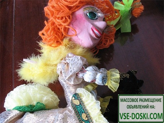 Кулоны, куклы из дерева под заказ