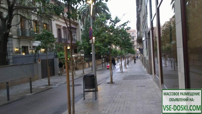 Доходный дом, рядом со стадионом Camp Nou, в Барселоне.