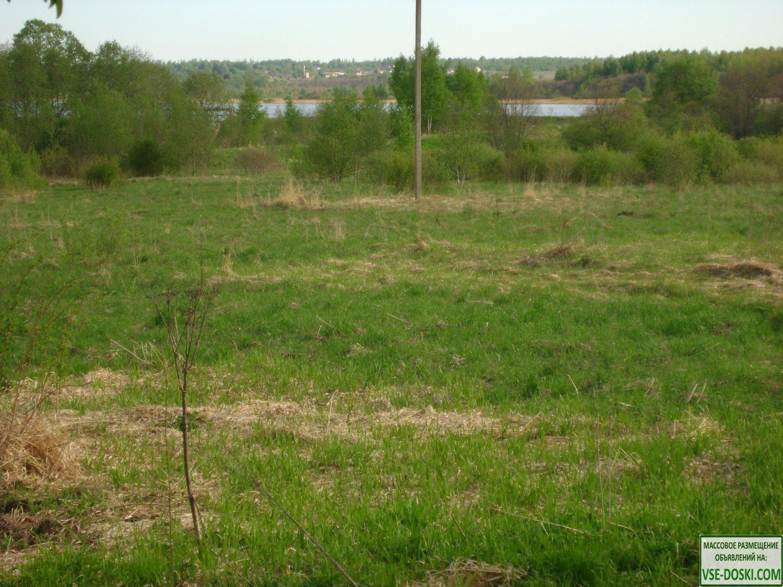 Участок ИЖС 15 соток на озере в деревне