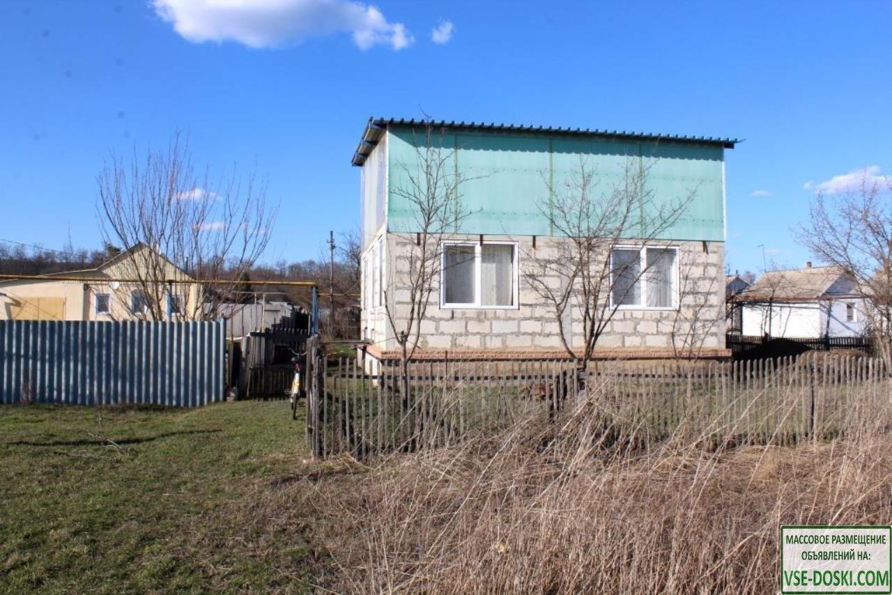 Продам дом под самоотделку в с. Ниновка Новооскольского района Белгородской области ул. Лу
