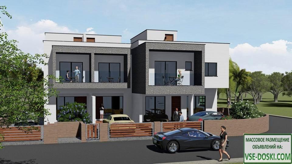 Таунхаусы, в новом жилом комплексе, в Пафосe.