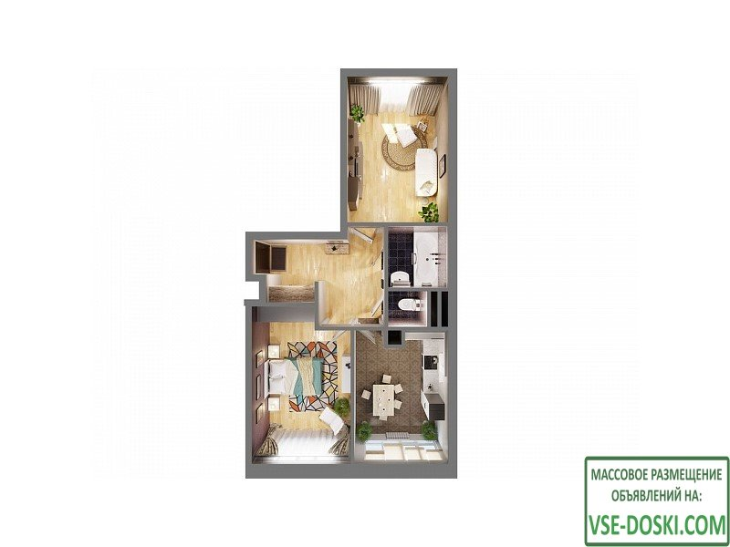 Квартира в ЖК `Одинцовские кварталы`