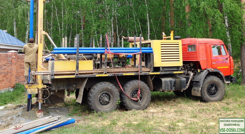 Бурение скважин на воду `под ключ` в Екатеринбурге и области
