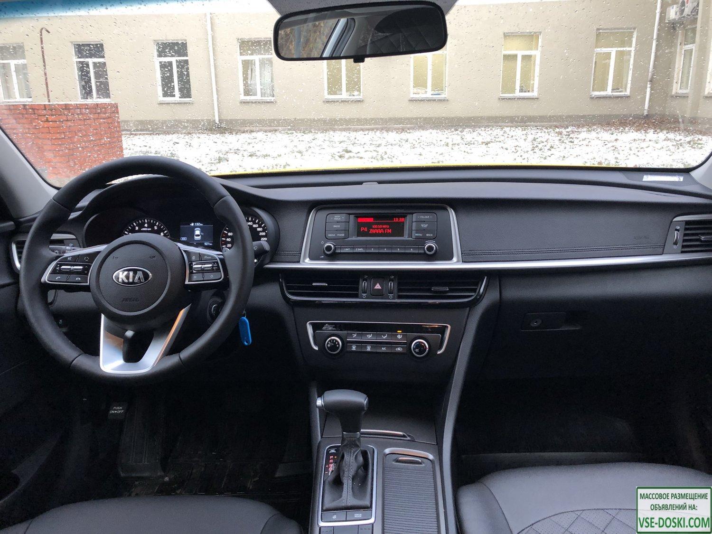 Аренда авто Kia Optima 2020 года под такси в г. Москва с выкупом. - 9/9