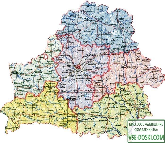 Телефонные коды городов Республики Беларусь. Телефонный код Беларуси: +375. - 1/1